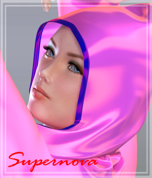 SteamyHood 3D Figure Essentials -supernova-