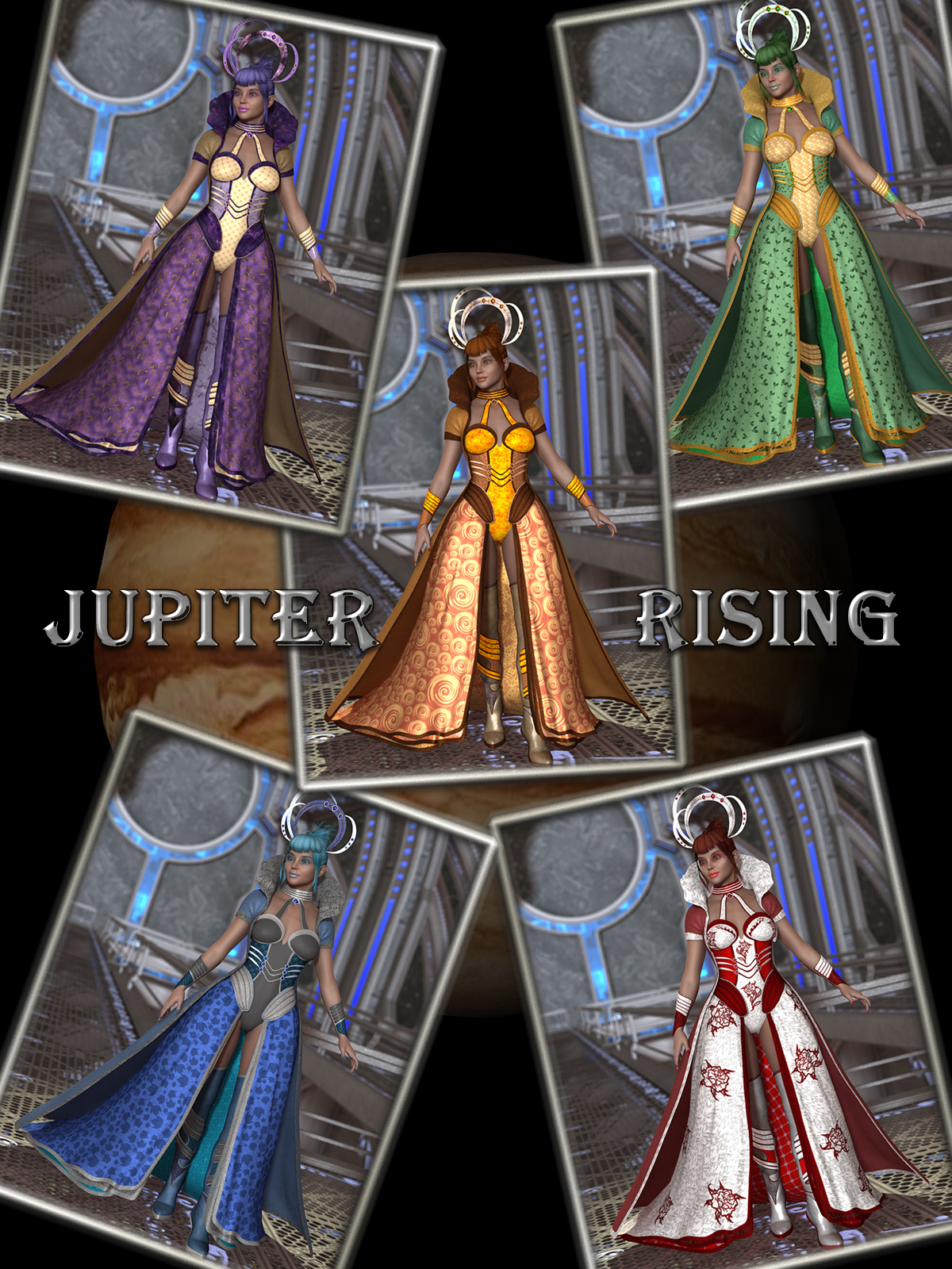 Jupiter Rising for GIS EmpressbyDark-Elf-Publishing()