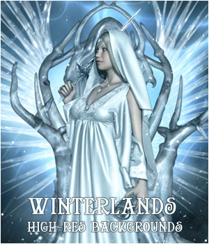 Winterlands Backgrounds 2D Graphics ellearden