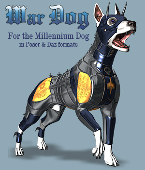 War Dogs for Mil Dog 3D Models Simon-3D