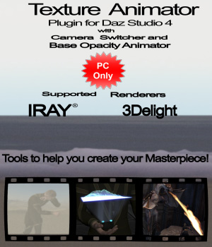 Texture Animator for Daz Studio 4 3D Software : Poser : Daz Studio : iClone provencial