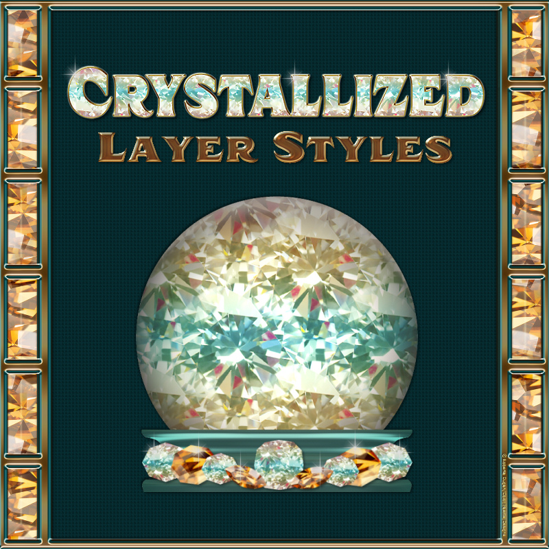 Crystallized Layer Styles by fractalartist01
