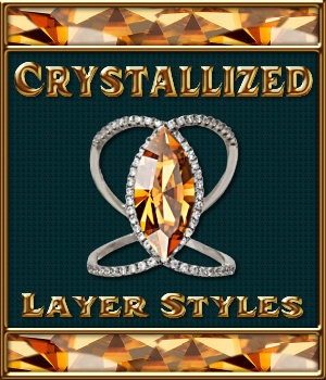 Crystallized Layer Styles 2D 3D Figure Essentials Merchant Resources fractalartist01