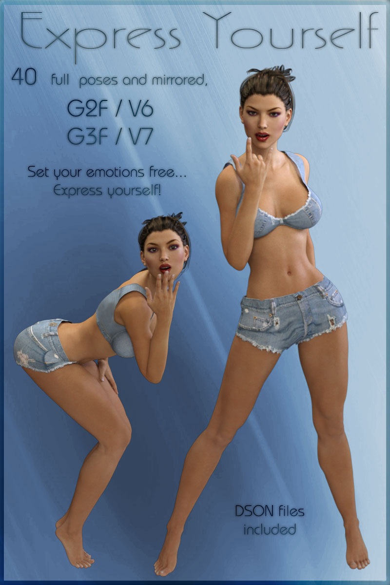 Express Yourself - G2F-V6/G3F-V7