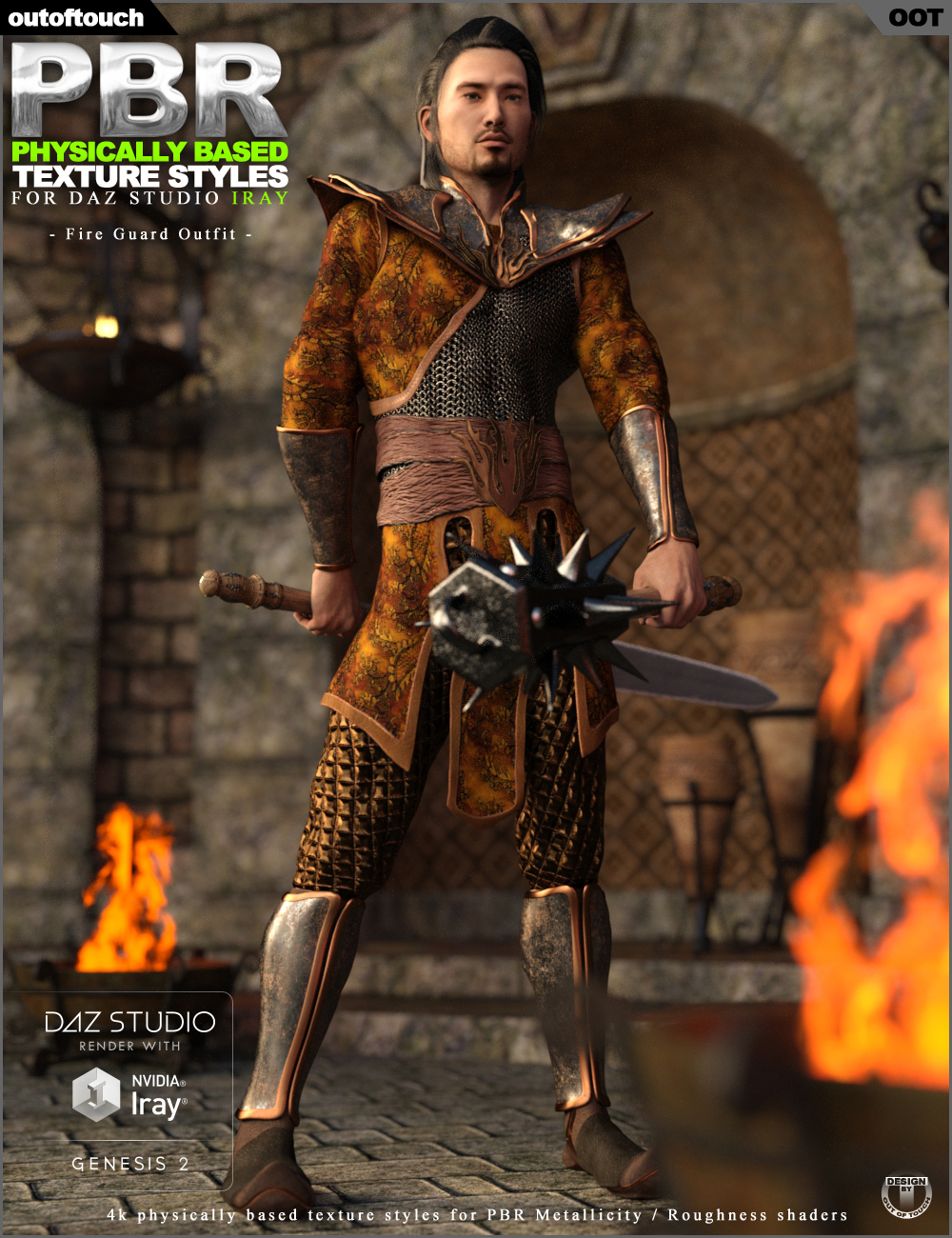 OOT PBR Texture Styles for Fire Guard Outfitbyoutoftouch()