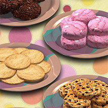 Exnem Cookies Props for Poser image 4