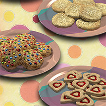Exnem Cookies Props for Poser image 6