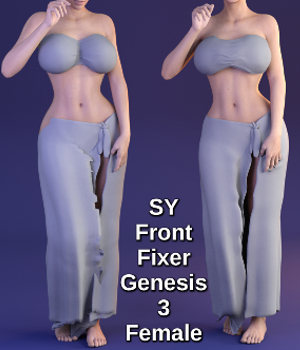 SY Front Fixer G3F 3D Figure Essentials SickleYield