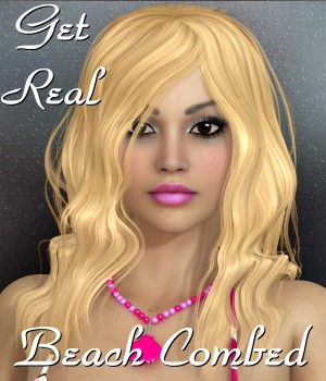 Get Real for Beachcombed Hair 3D Figure Assets chrislenn