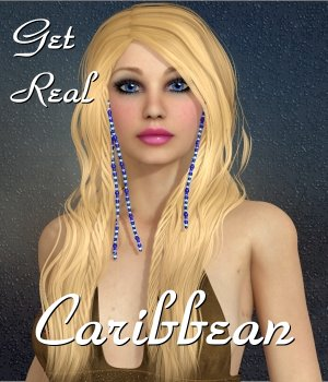 Get Real for Caribbean hair 3D Figure Assets chrislenn