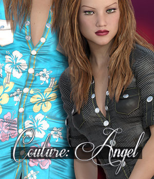 NYC Couture: Angel for Genesis 3 Female(s) 3D Figure Essentials 3DSublimeProductions