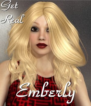 Get Real for Emberly Hair 3D Figure Assets chrislenn