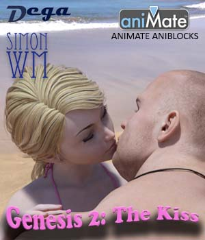 Genesis 2: the Kiss aniBlocks 3D Figure Essentials SimonWM
