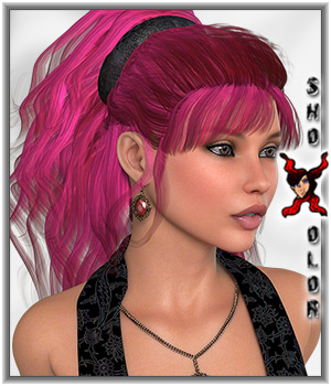 ShoXoloR for Gypsy Love Hair 3D Figure Essentials ShoxDesign