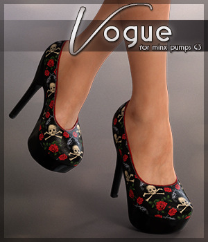 Vogue for Minx Pumps G3 3D Figure Essentials Sveva