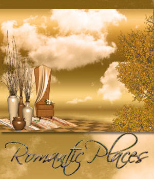 DA-Romantic Places-BG Mini Set 2D Graphics DarkAngelGrafics
