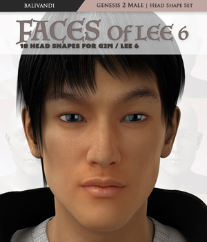 Faces Of Lee 6 3D Figure Essentials Balivandi