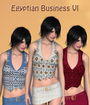 Egyptian Business VI for 3D-Ages Office Suit VI 3D Figure Essentials PipNBairns