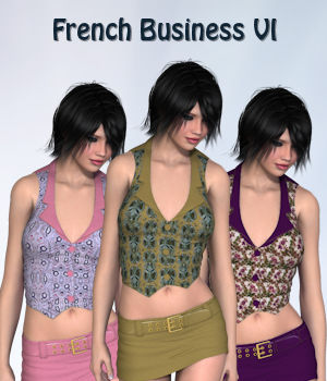 French Business VI for 3D-Ages Office Suit 3D Figure Essentials PipNBairns