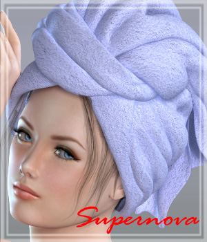 Hammam 3D Figure Essentials -supernova-