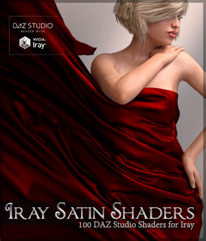 SV's Iray Satin Shaders DS 3D Figure Assets Merchant Resources Sveva