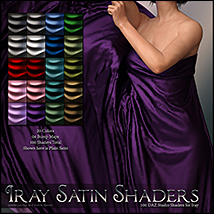 SV's Iray Satin Shaders DS image 1