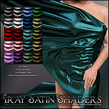 SV's Iray Satin Shaders DS image 2