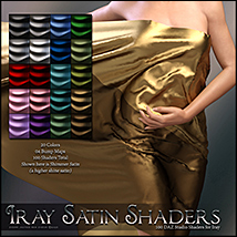SV's Iray Satin Shaders DS image 3