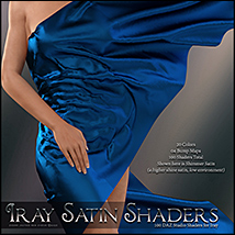 SV's Iray Satin Shaders DS image 4