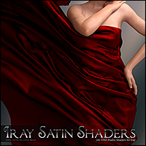 SV's Iray Satin Shaders DS image 5