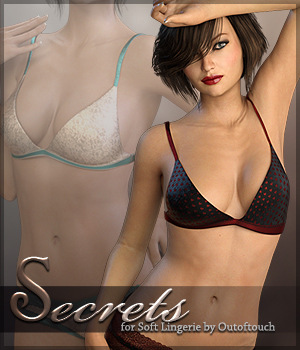 Secrets for Soft Lingerie G3 3D Figure Essentials Sveva