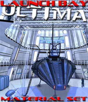 Launch Bay Ultima 3D Figure Essentials Lights and Cameras BlueTreeStudio