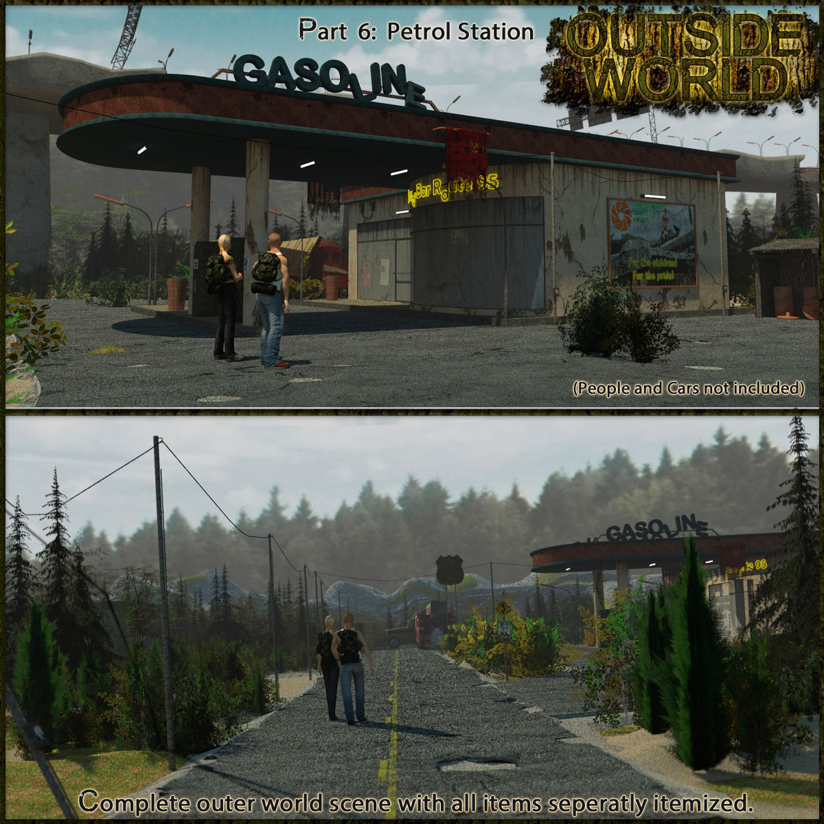 Outside World: Part6 - Petrol Station
