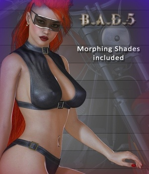 B.A.D.5 - Bad Girl VII 3D Figure Essentials nirvy