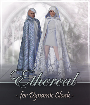 Ethereal for Dynamic Cloak 3D Figure Assets Frequency
