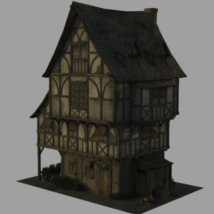 Black_Dragon's_Inn - Extended License 3D Models Extended Licenses Dante78