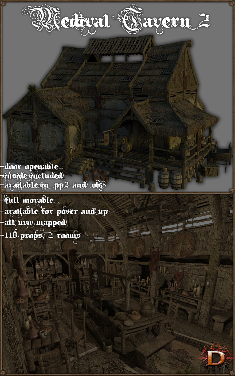 Medieval_Tavern_2 - Extended License by Dante78