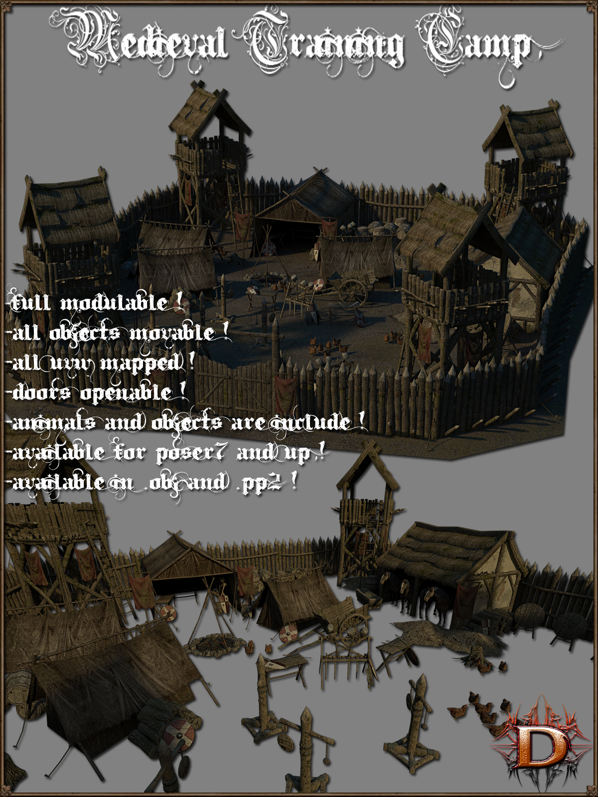 Medieval Training Camp - Extended License