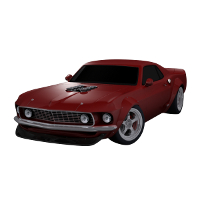 Z Car - Extended License 3D Models Extended Licenses Dante78