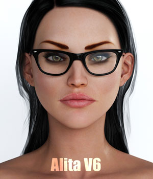 Alita V6 3D Figure Essentials RetroDevil