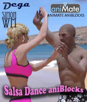Genesis 2: Salsa Dance 3D Figure Essentials SimonWM