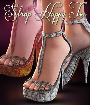 NYC Collection: Strap Happy Too Genesis 3 Female(S) 3D Figure Essentials 3DSublimeProductions
