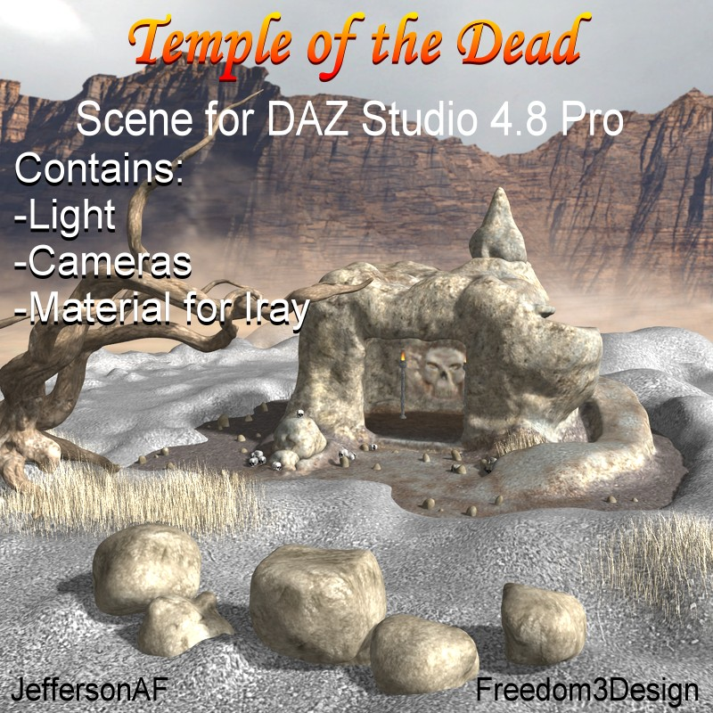 Temple of The DeadbyJeffersonAF(), freedom3design()
