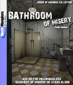 Bathroom of Misery 3D Models keppel