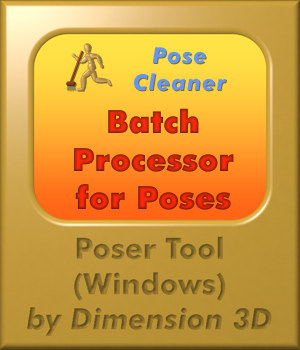 Pose Cleaner Software Dimension3D