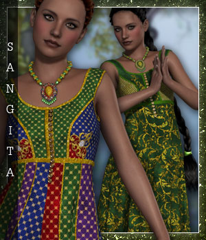 Sangita for Chandrani 3D Figure Essentials sandra_bonello