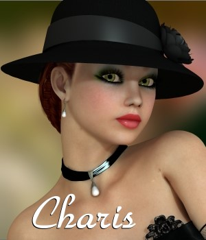 Charis for V4.2 3D Figure Assets chrislenn