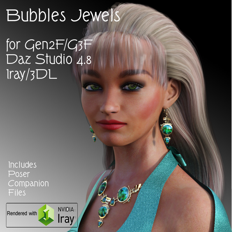 Bubbles Jewels for G2F/G3F
