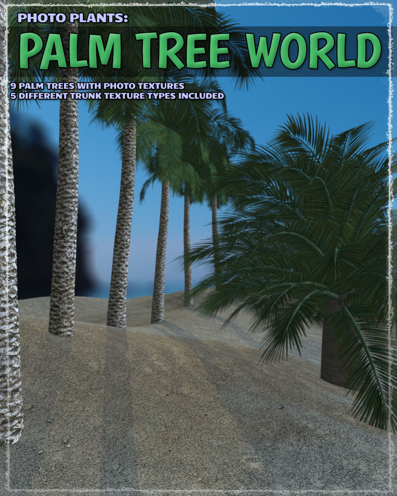 Photo Plants: Palm World by ShaaraMuse3D