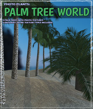 Photo Plants: Palm World 3D Models ShaaraMuse3D